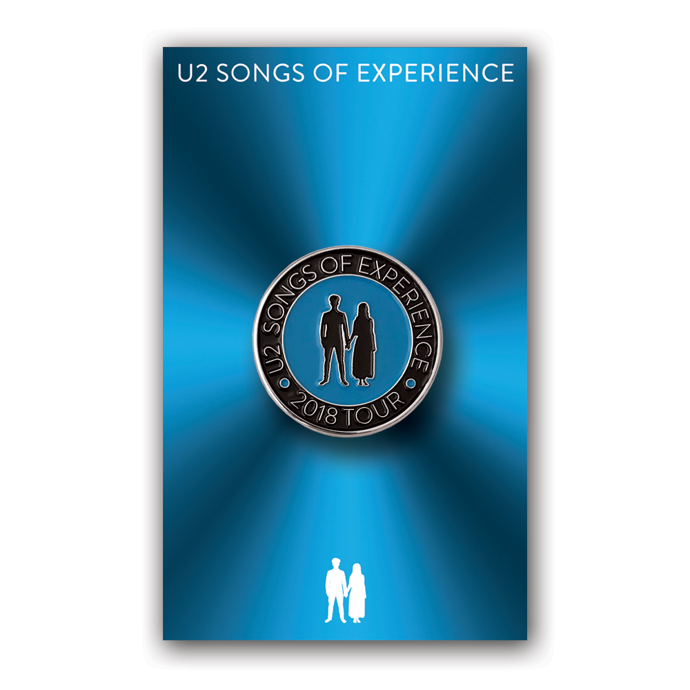 U2- Songs of Experience- Tour Pin- by waxoffdesign