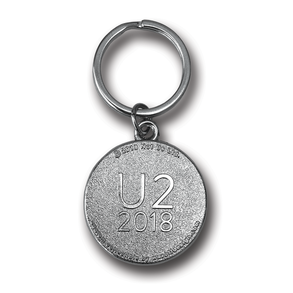 U2- Songs Of Experience- Tour Keychain- by waxoffdesign