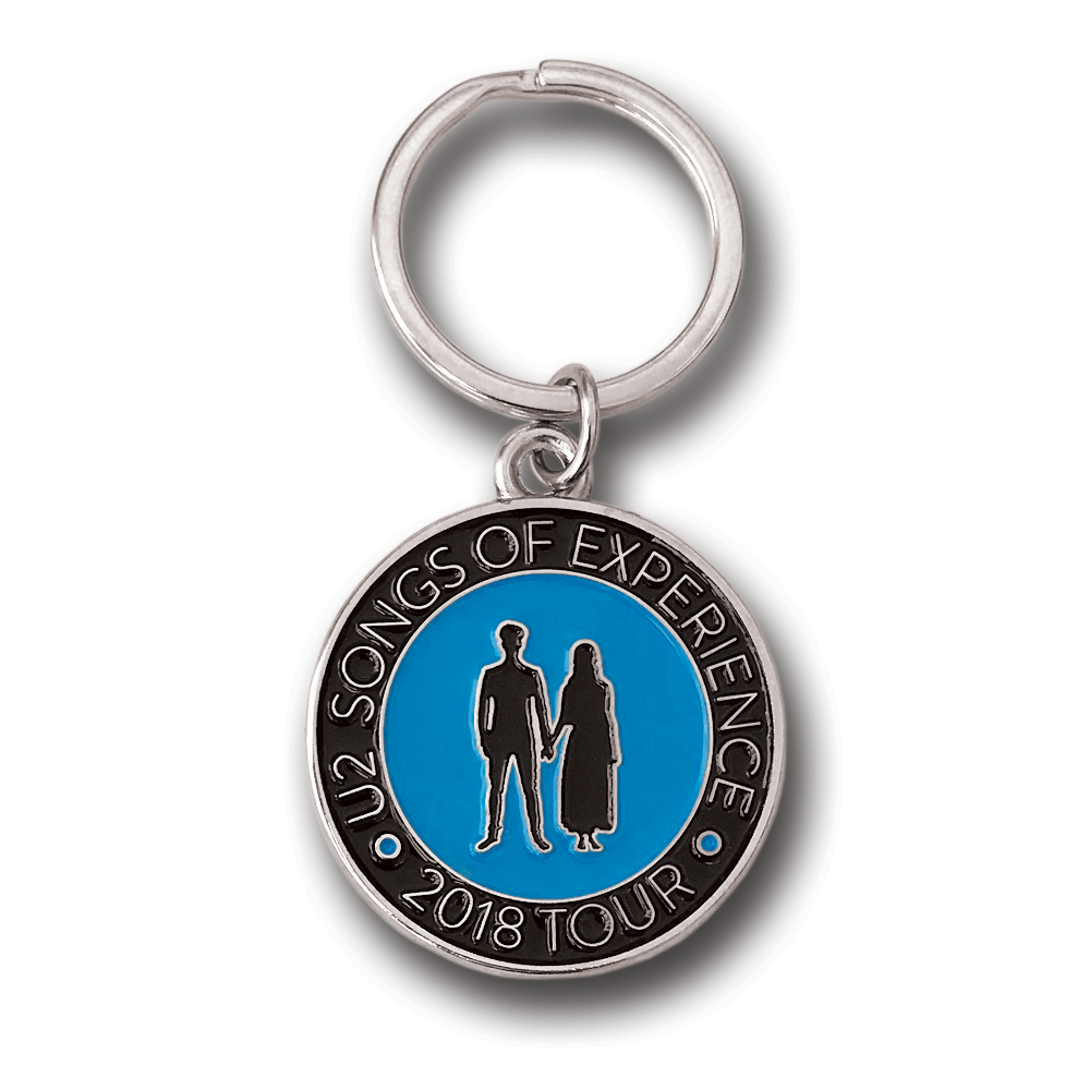 U2- Songs Of Experience Tour Keychain- by waxoffdesign