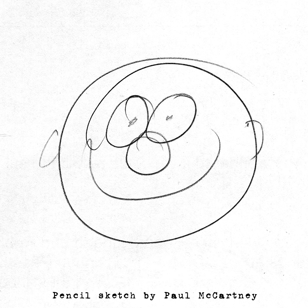 Paul McCartney- Smiley Face Drawing