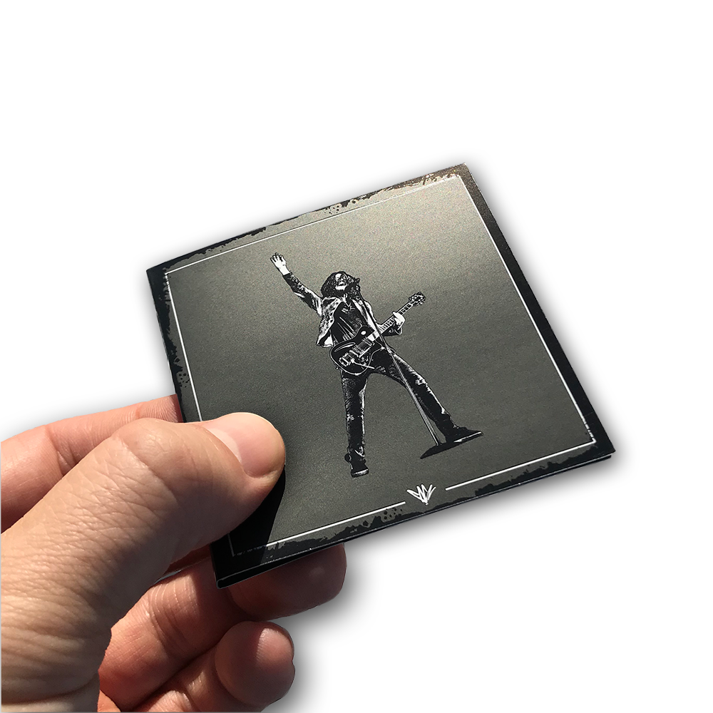 Chris Cornell- Custom Pin Packaging- Booklet Closed- by waxoffdesign