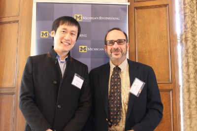 U of M Awards - - Towner Prize for Distinguished Academic Achievement- Distinguished Leadership Award, College of EngineeringAnn Arbor, MI, March 2014Photo with Chemical Engineering Graduate Chair Prof. Robert Ziff.
