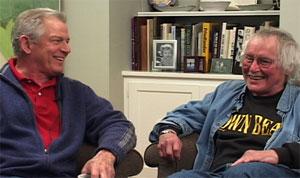 Bill Berkson and David Meltzer