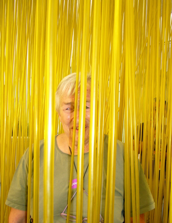 Marsha at LACMA (photo by Mary Kerr)