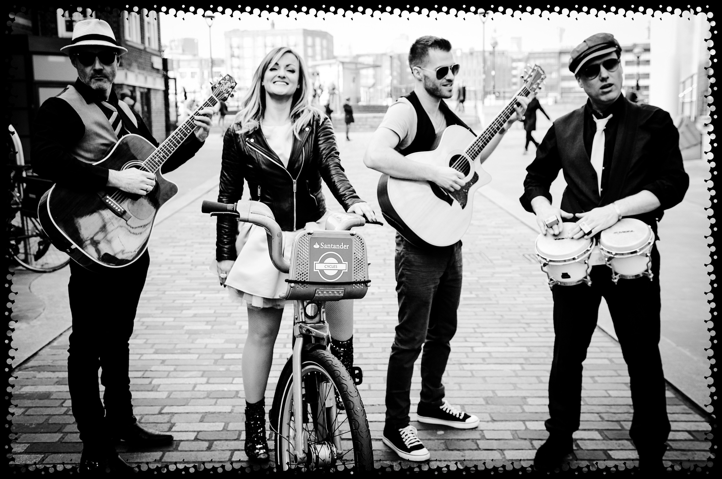 belle and the boots - acoustic roaming party band
