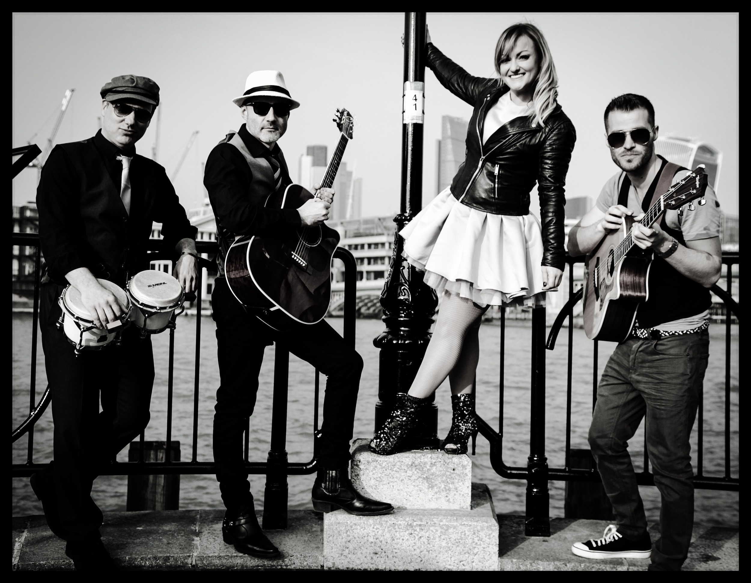 belle and the boots - acoustic wandering party band