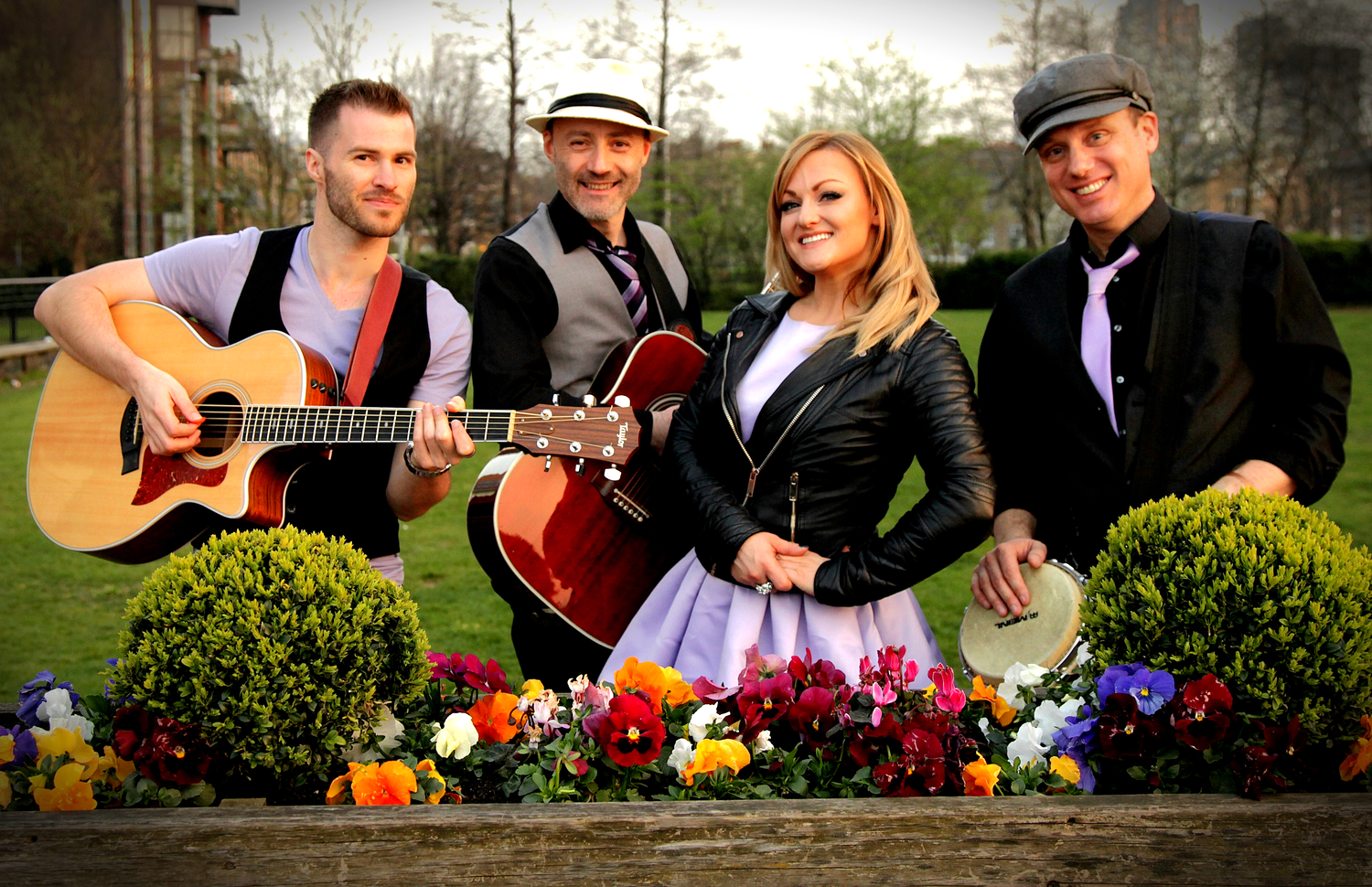belle and the boots - acoustic roaming function band
