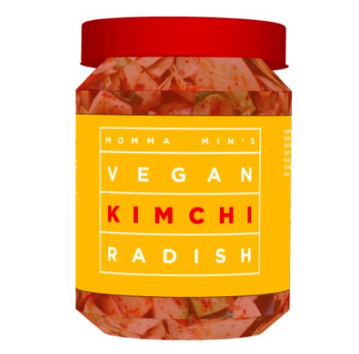 16 oz Vegan Kimchi Radish