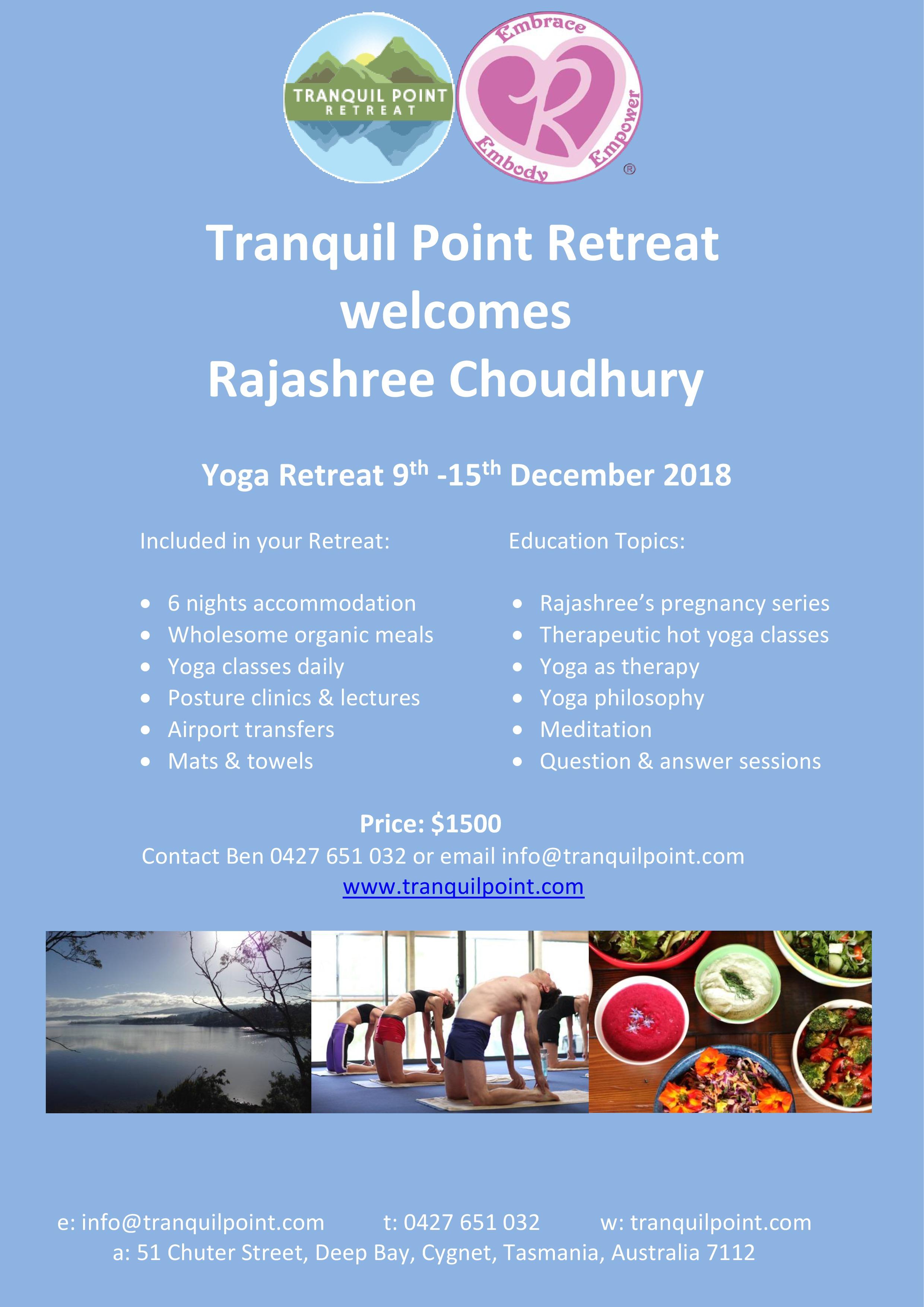 Rajashree Retreat Poster.jpg