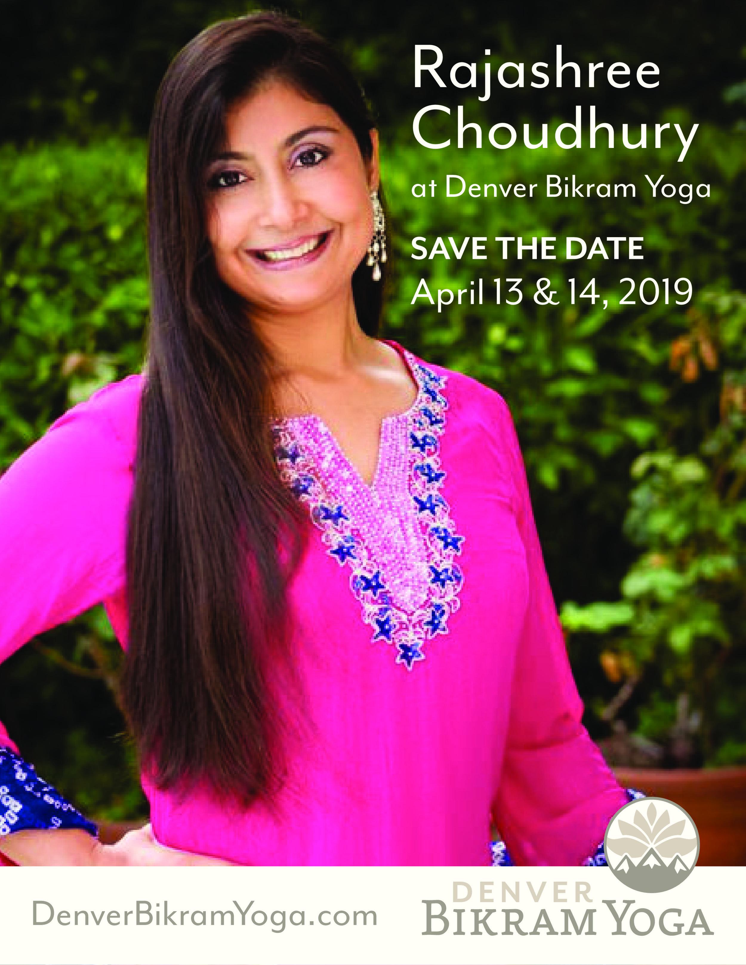 Events Rajashree Choudhury Rajashree Choudhury Pregnancy Yoga Bikram Yoga Teacher Training