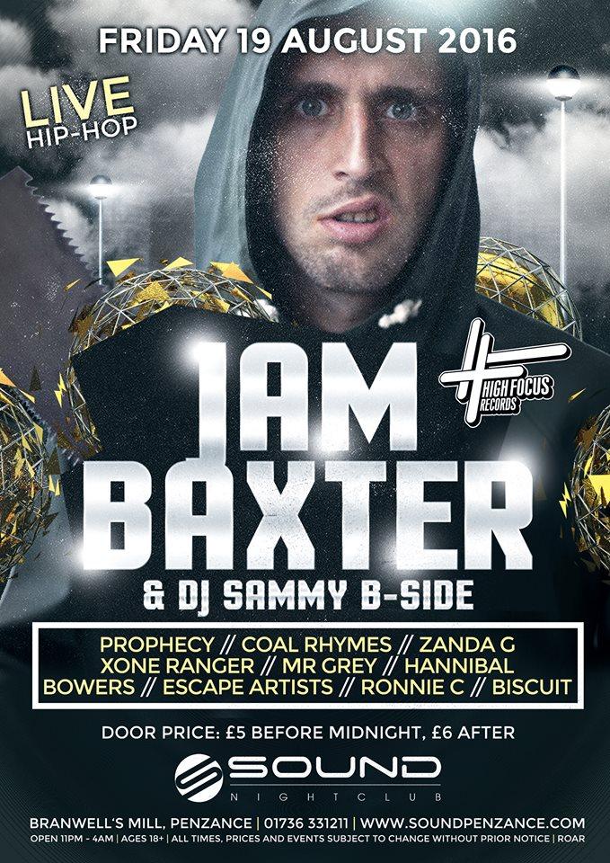 Baxter B-Side Penzance