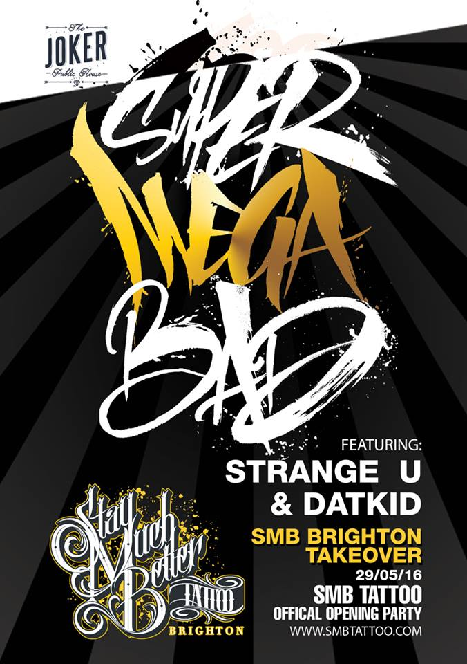 Super Mega Bad Brighton Front