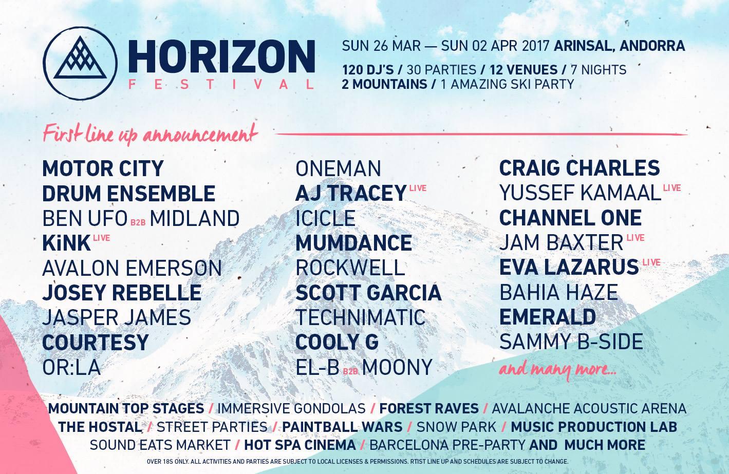 Horizen Festival 2017
