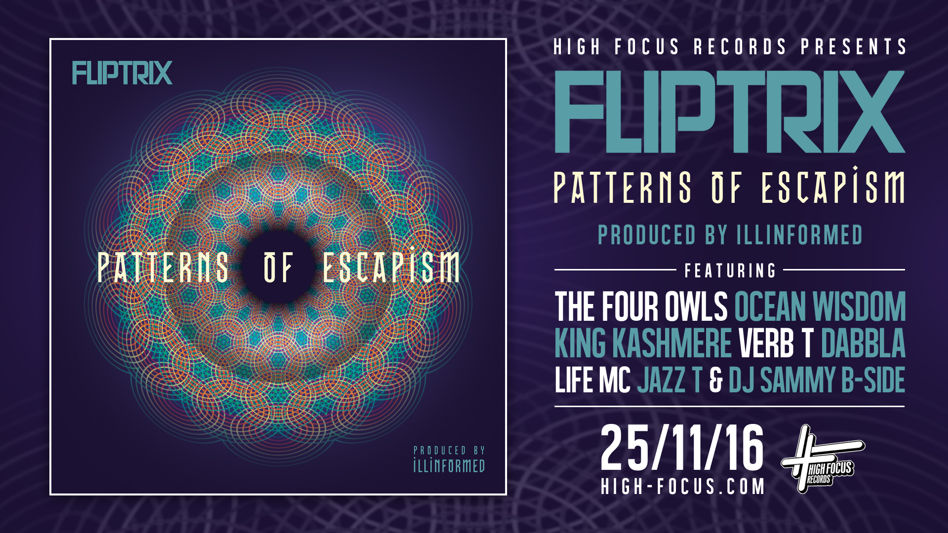 Fliptrix Patterns of Escapism