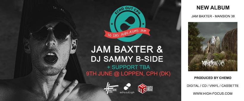 Jam Baxter Copenhagen