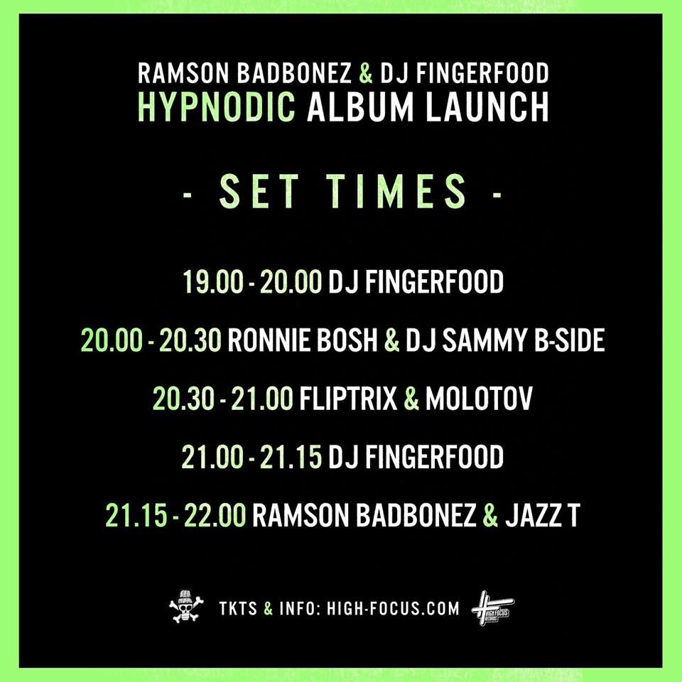BadBonez Alubm Launch Times