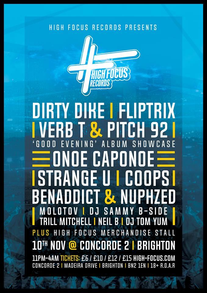 High Focus Records Brighton