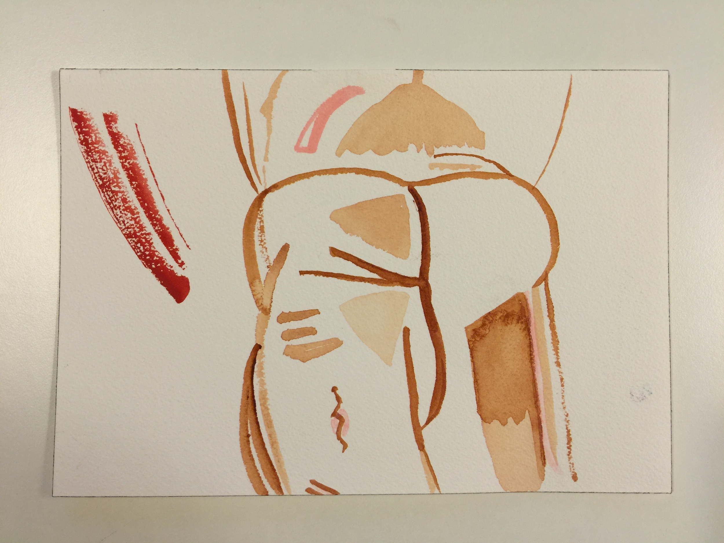 Watercolor on French Cold Pressed Paper | Summer 2015
