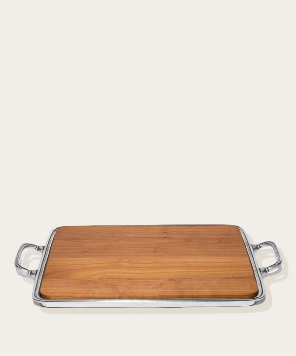 MATCH PEWTER LUCIDO CHEESE PLATE