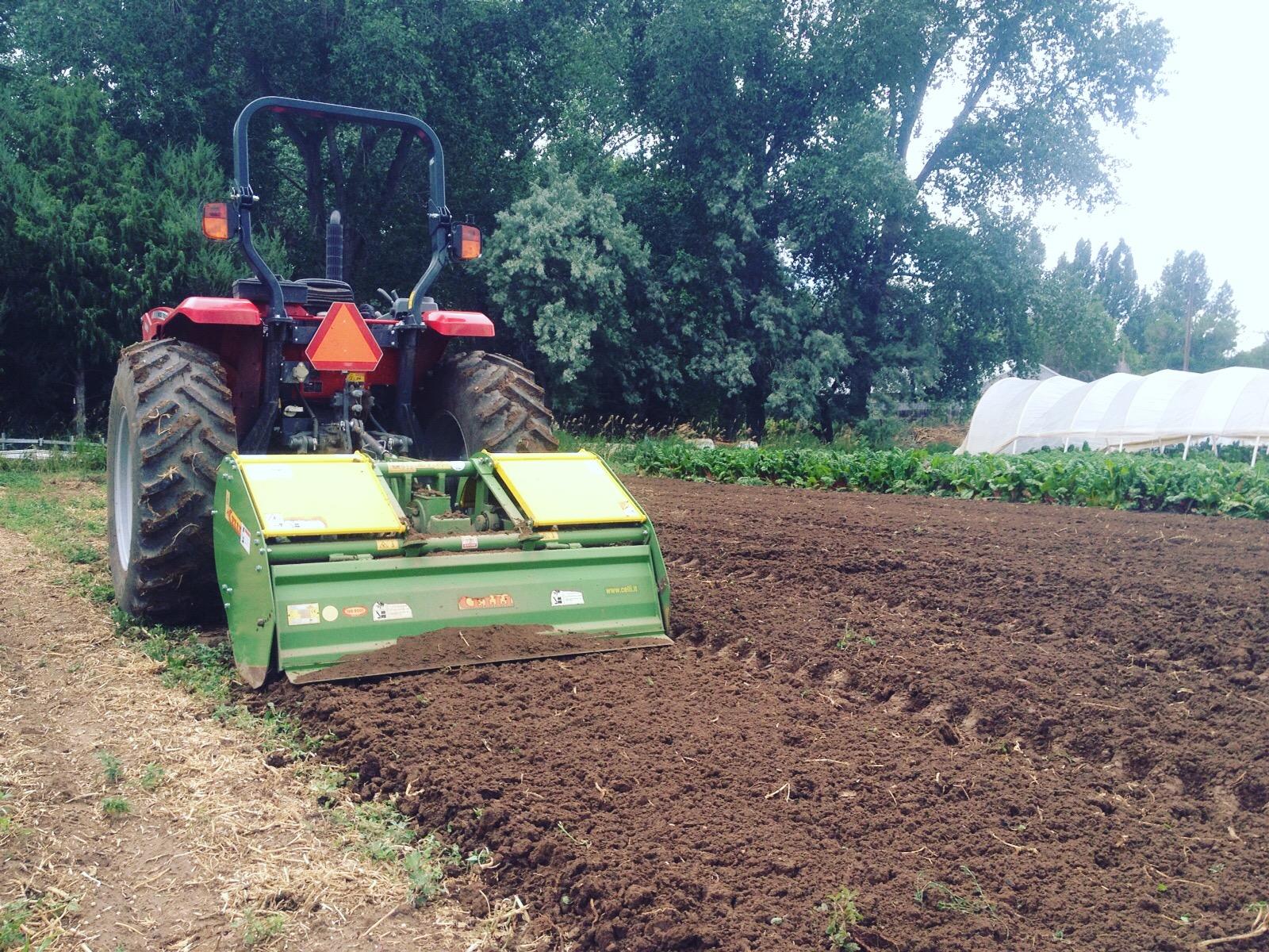 And...a new Celli spader! Viva Italia! (Photo by Farmer Nic)