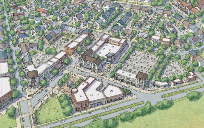 A rendering of the ag-centered Montava development, which will include a 40-acre farm. (Photo: Montava)