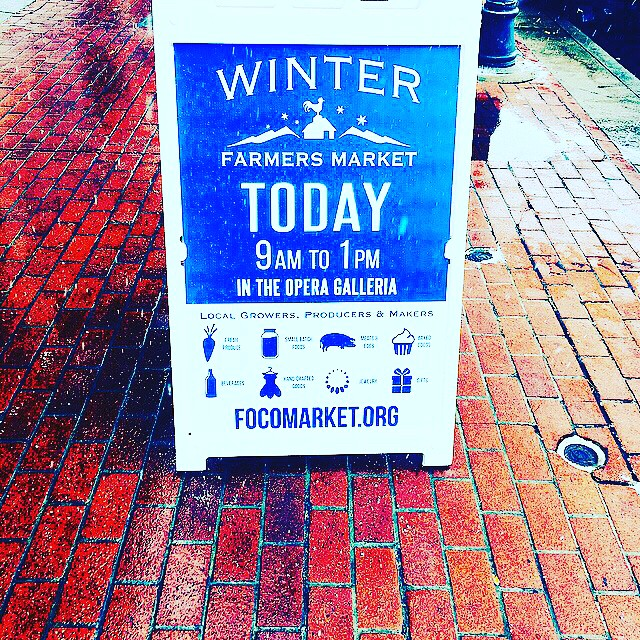 Get on down to our last winter market this morning(Saturday 23rd) we have lots of goodies for you! @focowintermarket at the opera galleria old town Foco from 9 to 1. #nativehillfarm. #bestcarrottsever #eatyourgreens  our friends and one of your farmers Melissa will be there selling some amazing bread from @the.maker.and.baker at our booth today.