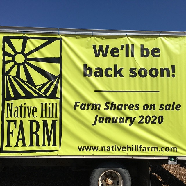 Lots of exciting things happening! #nativehillfarm #eatlocal #goodfood #focofresh