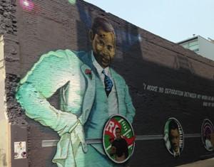 Mural on Ben Ali Way