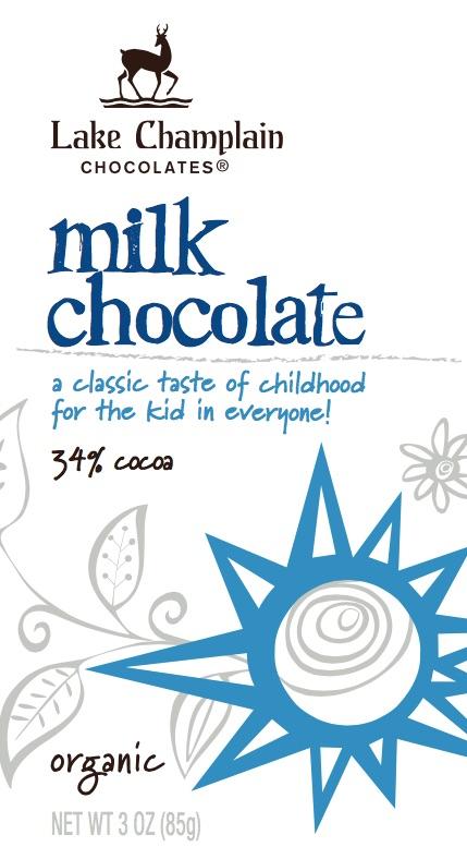 Organic Milk Chocolate - click to enlarge.