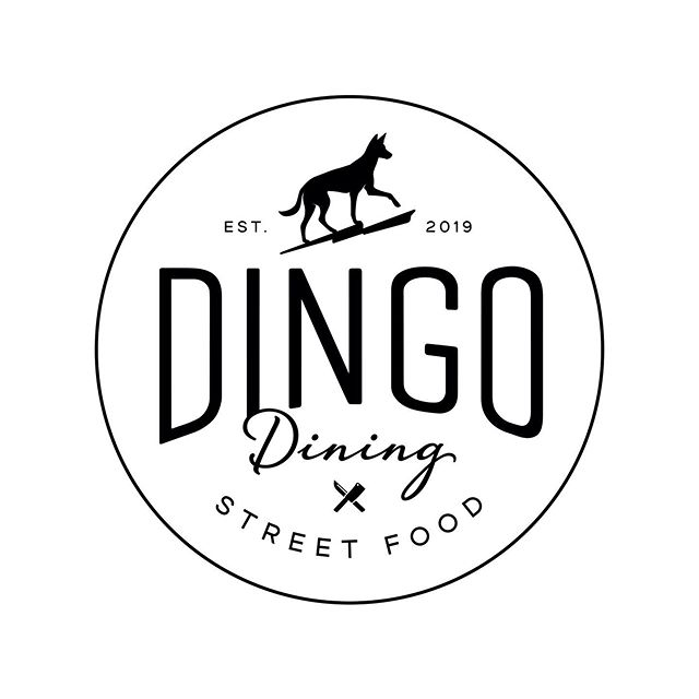 A variation on the @dingo_sauce_co brand for their new venture - Dingo Dining - amazing food, using fabulous local produce, created by the very talented Leigh Nash. We can't get enough of the chilli goodness! And what a top spot @thesunshineharvesterworks 👌🏼 curry shot @cloud_stories . #insomniadesign #branding #design #madelocal #northfreo #dingosauceco #dingodining #sunshineharvester