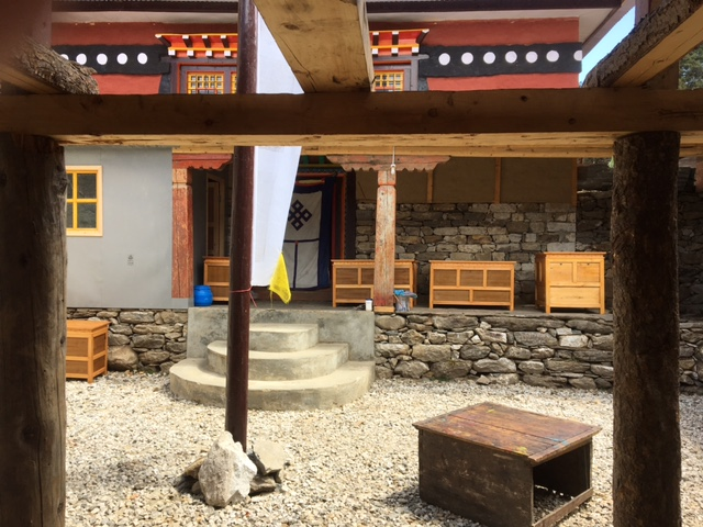 - New entrance to prayer hall.