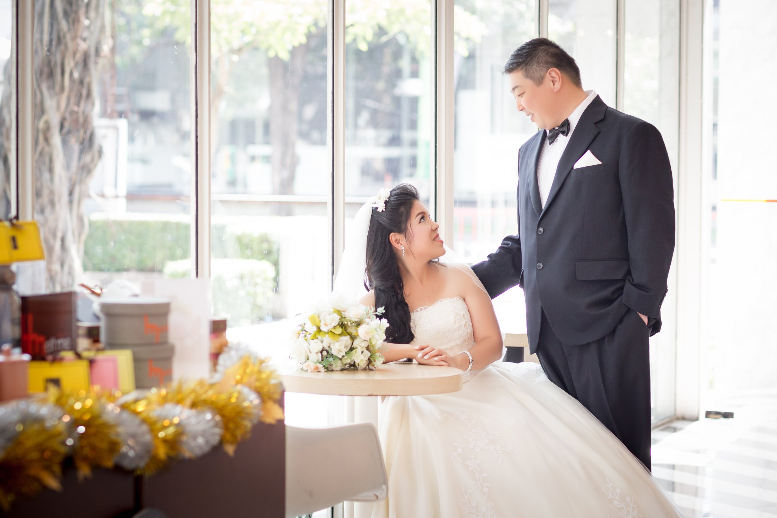 Wedding studio pictures