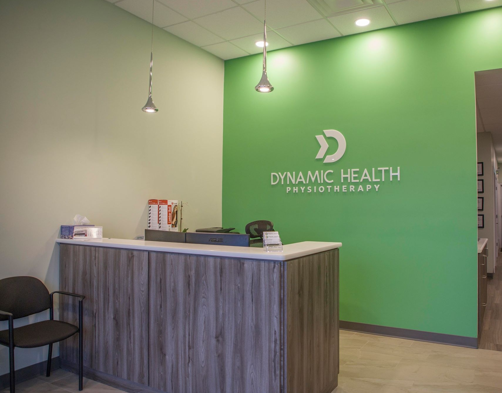 Fredericton Physio Clinic Front Desk