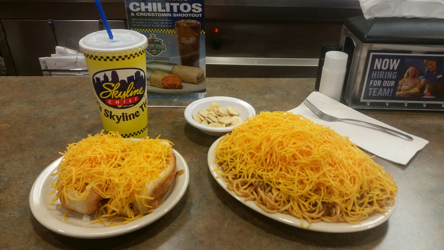Skyline Chili, Two Coneys and a Three-Way