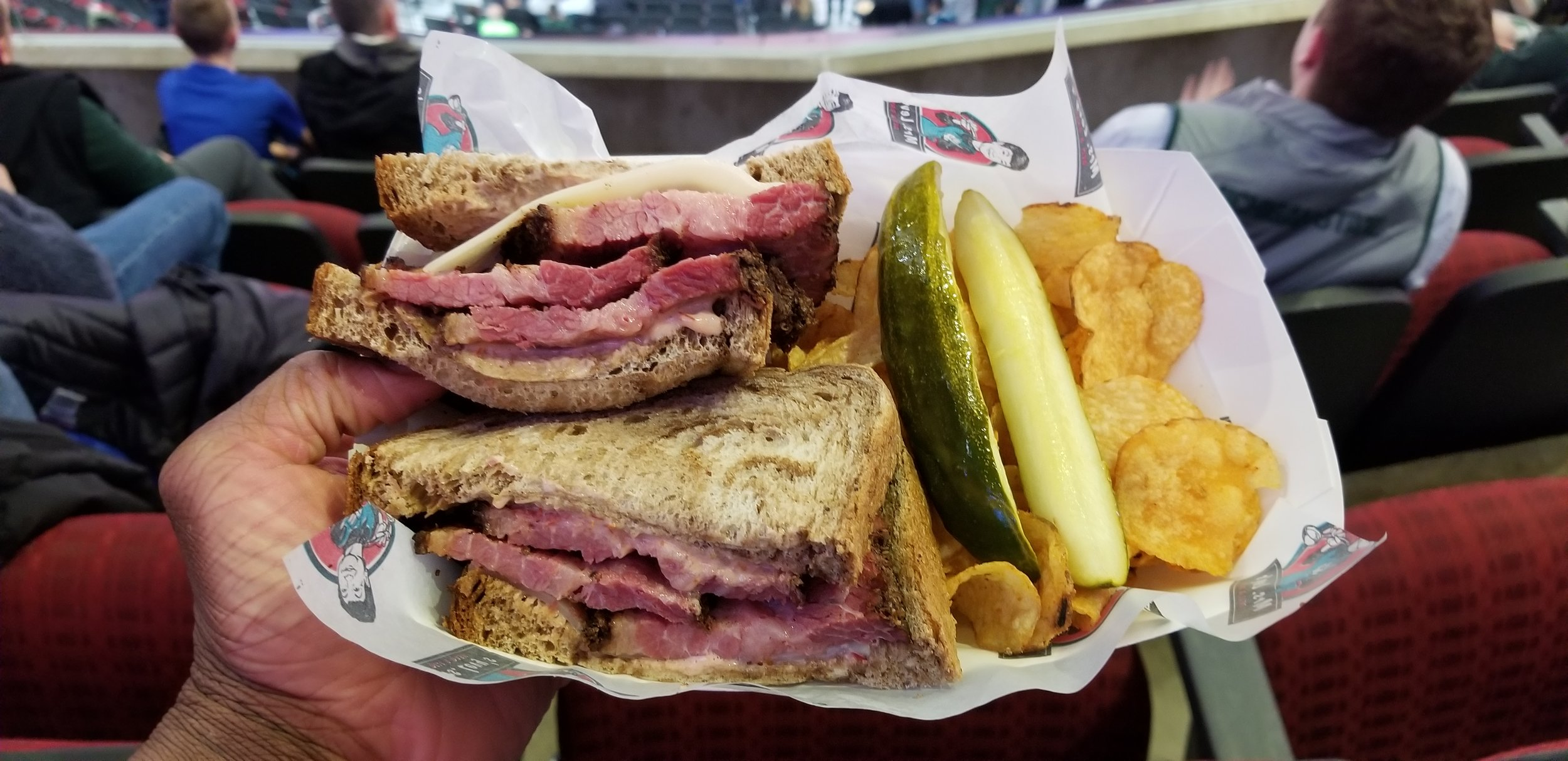 Mrs. Levy's Deli at the United Center