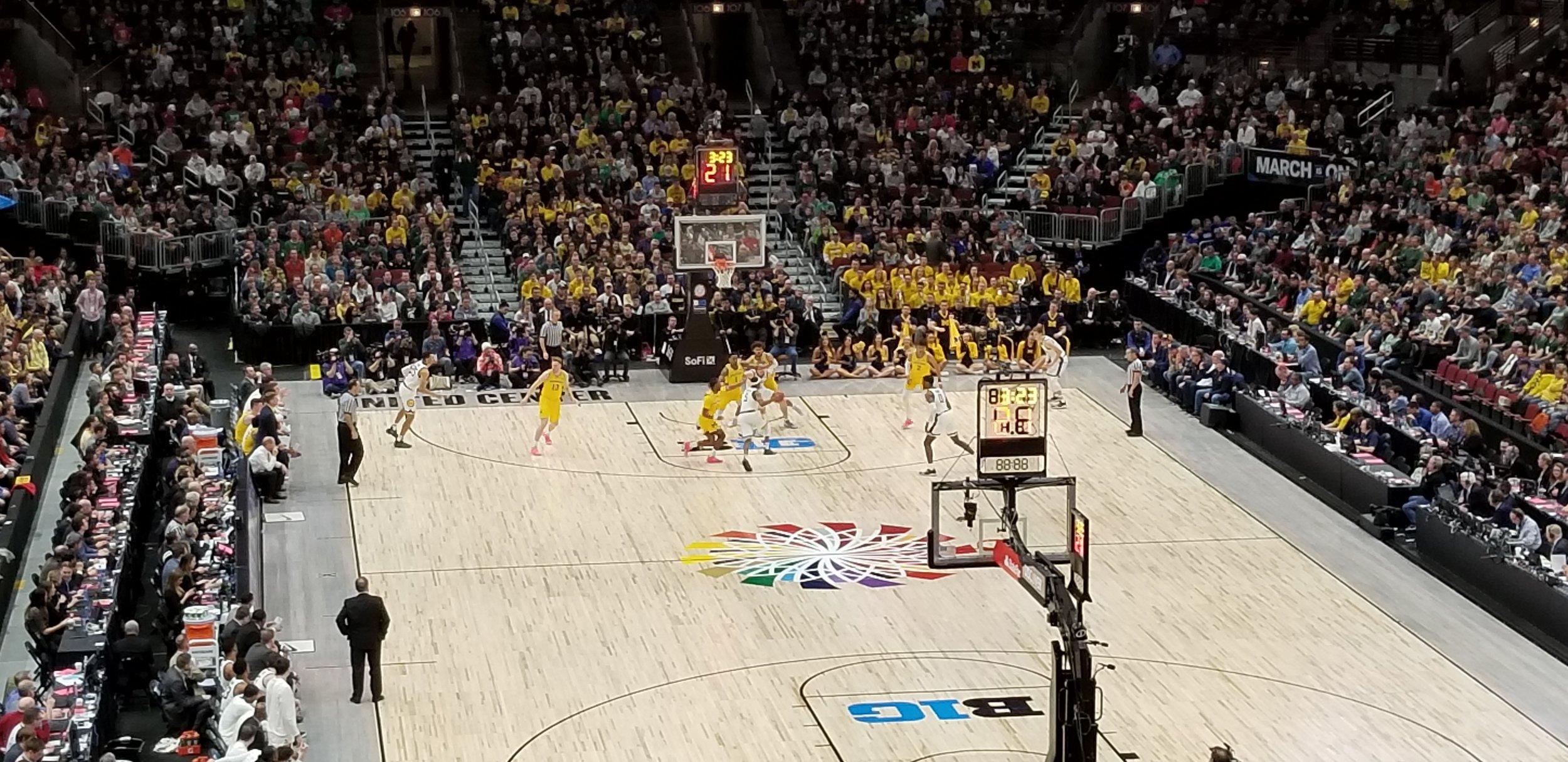 Michigan vs. Michigan State for the Big Ten Championship