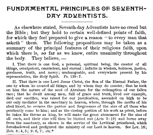 SDA Fundamental Beliefs-Yearbook 1889-1914 (Click for a larger view)