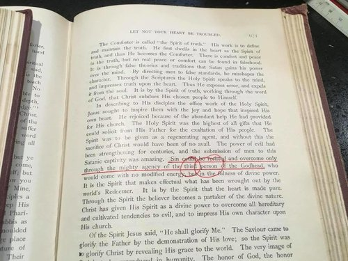 The Desire of Ages 1939, pg. 671