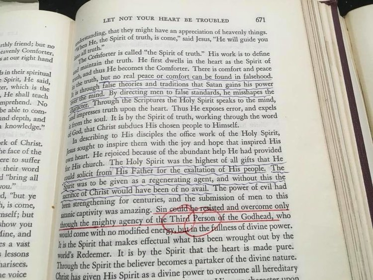The Desire of Ages 1940, pg. 671
