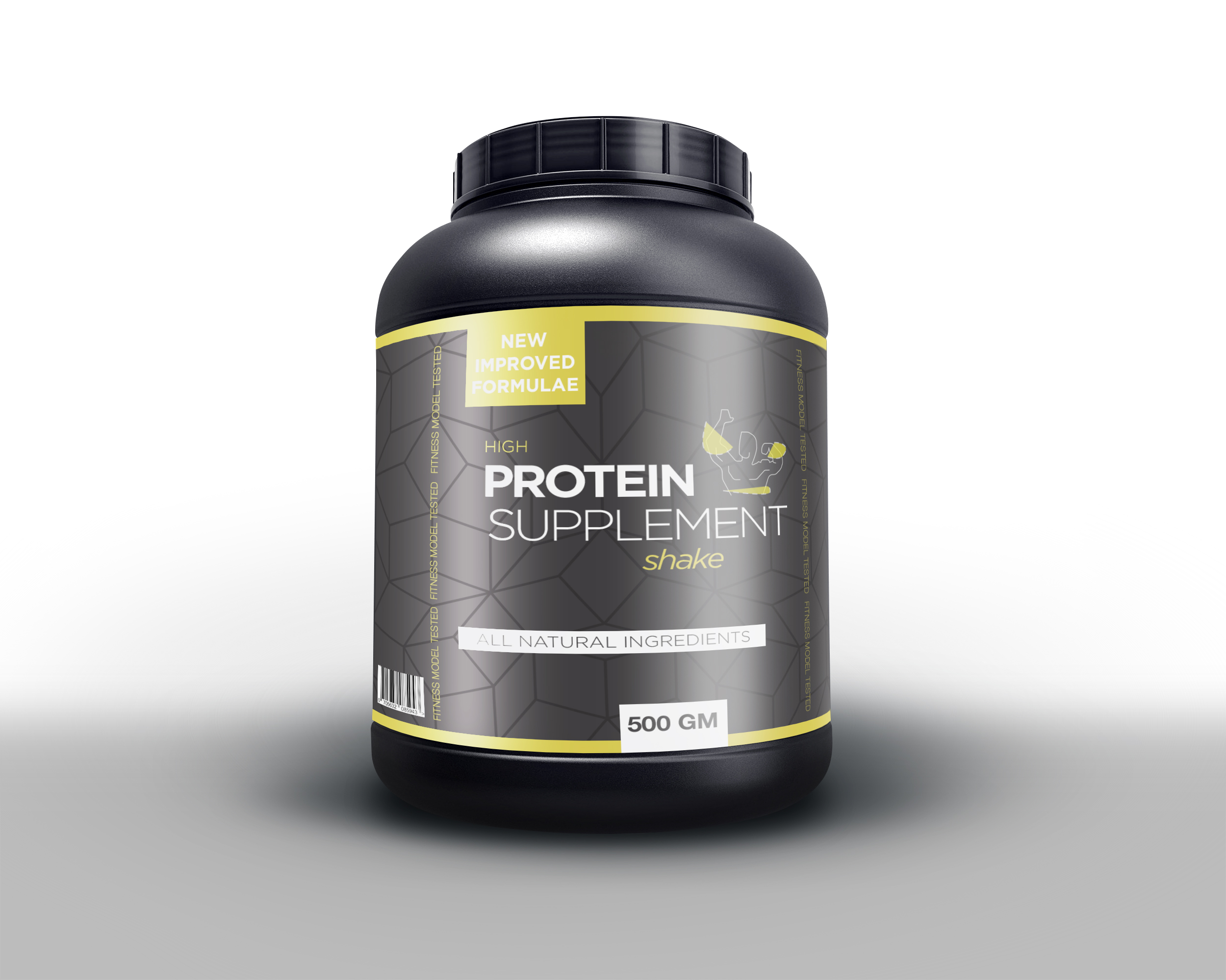 Protein Supplement Packaging Concept