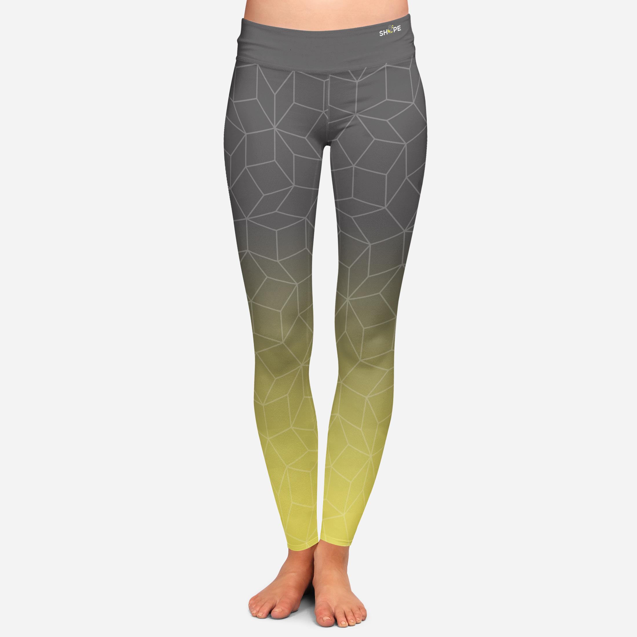 Legging Pant Design  [Electric Yellow/Phantom]