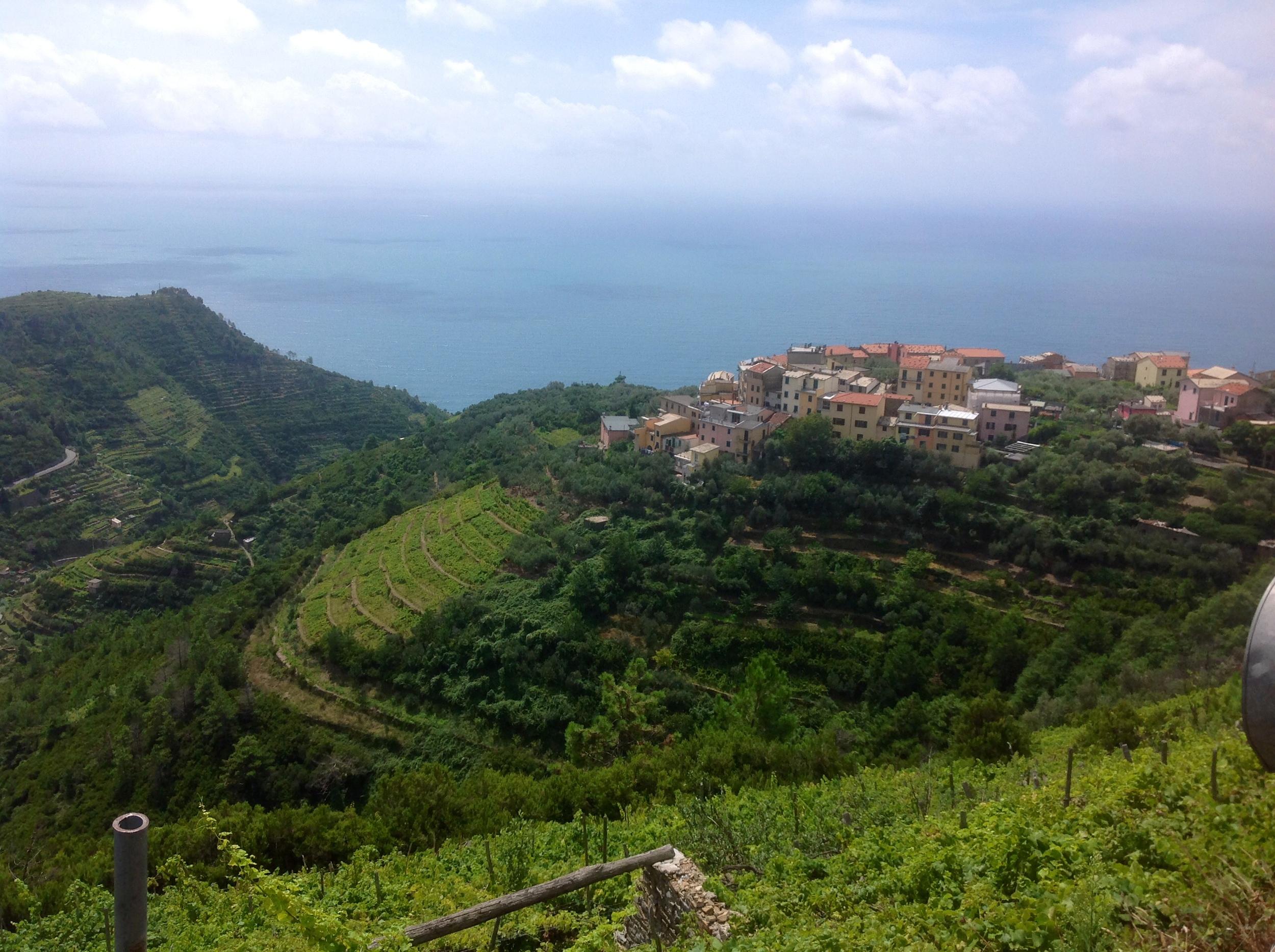 Overlooking Volastra