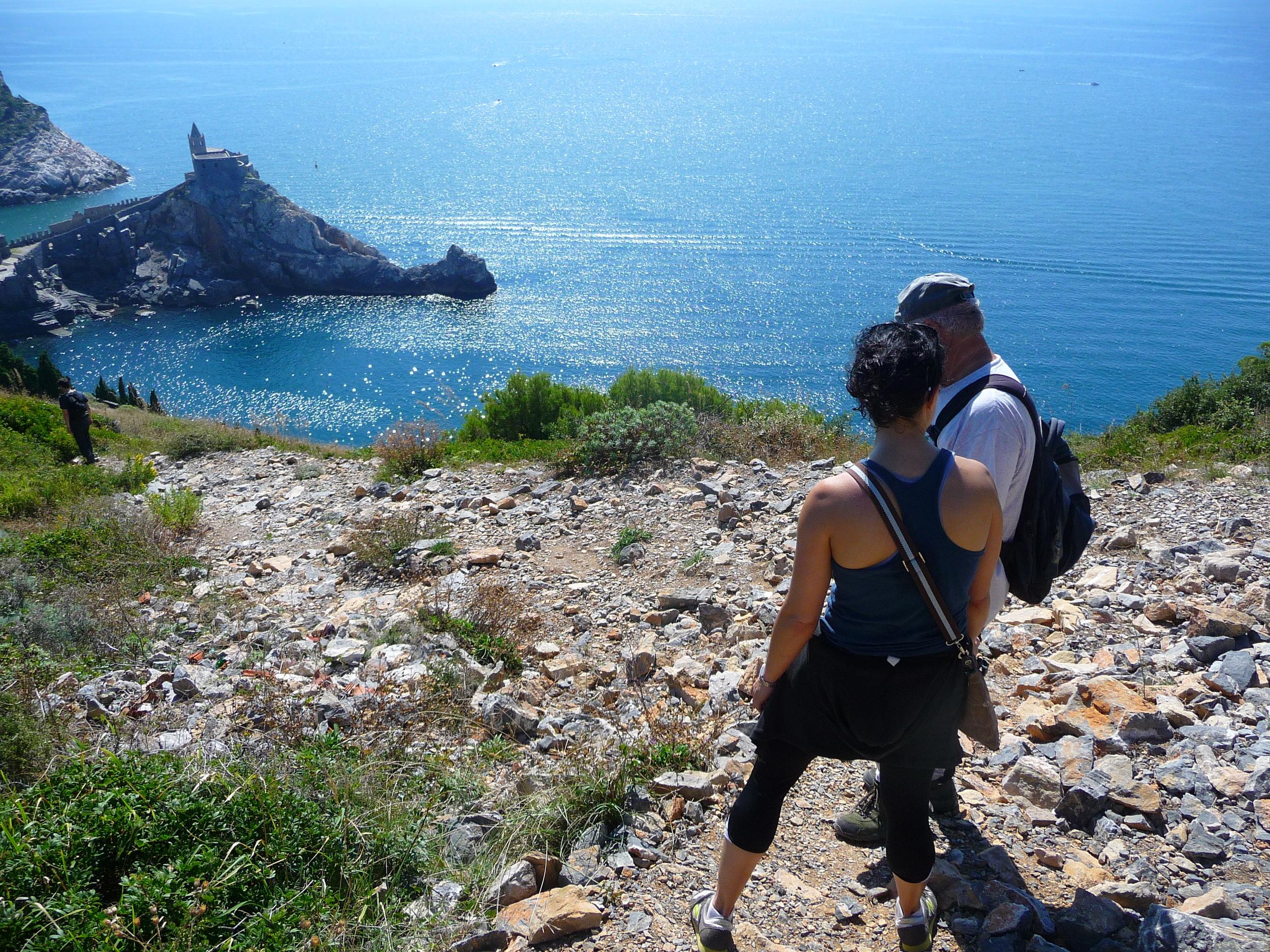 Overlooking Doria Castle