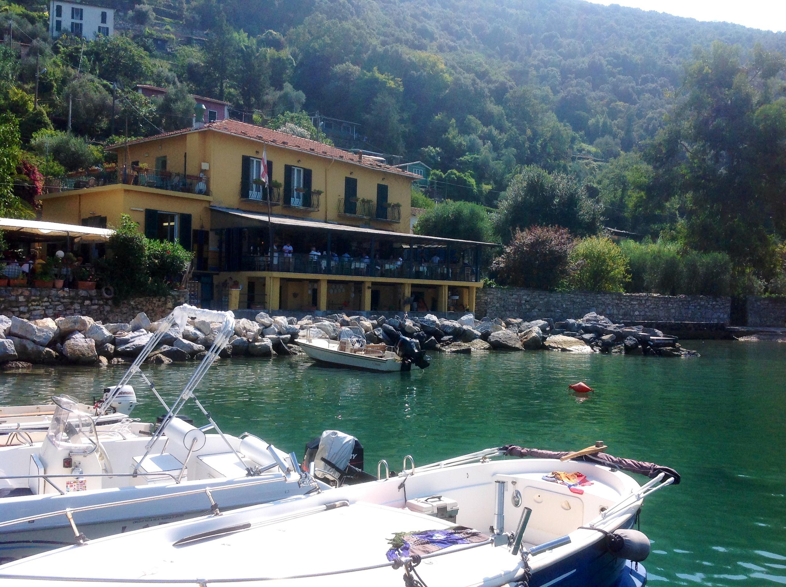 Restaurant on Palmaria