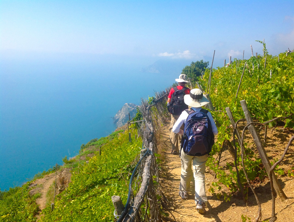 Starting your hike early will improve your Cinque Terre experience