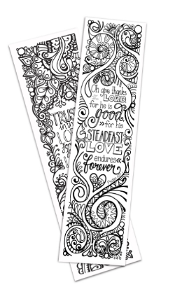 Two bookmark designs now in stock