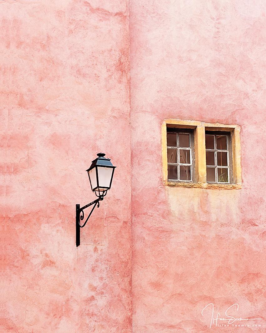 Lamp Corner and a Window