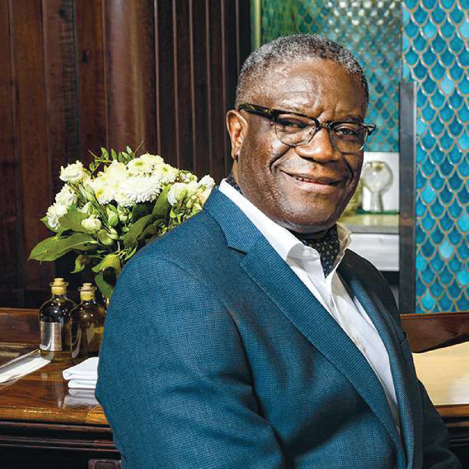 DR. DENIS MUKWEGE (Nobel Price 2018)