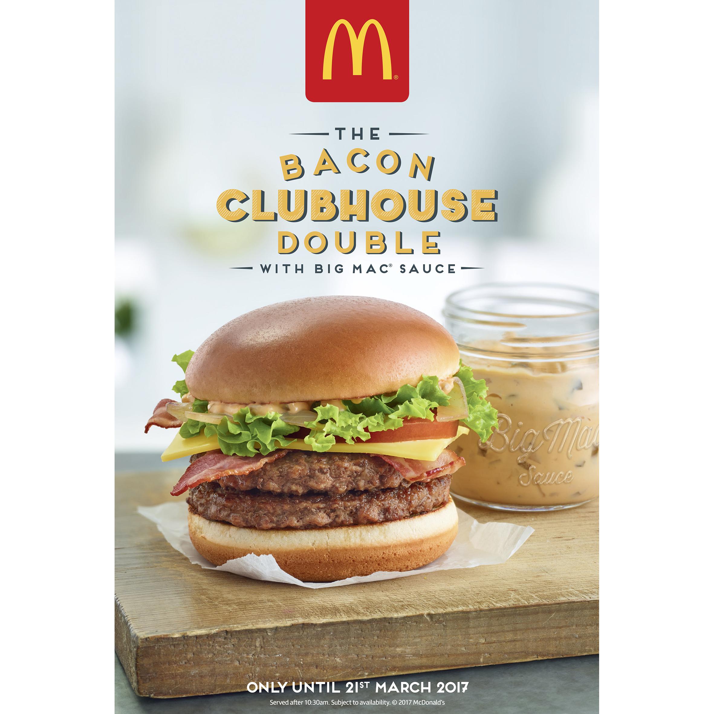 McDonalds Clubhouse Burger
