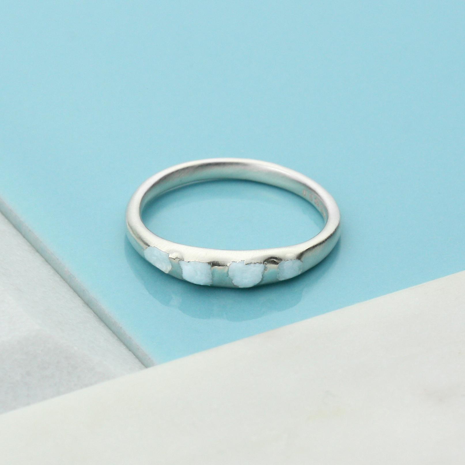 Silver Aquamarine Crystal Ring.jpg